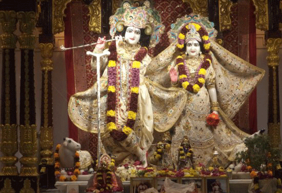 ISKON temple Hyderabad